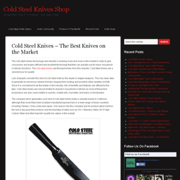Coldsteelknives.org thumbnail