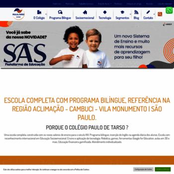 Colegiopaulodetarso.com.br thumbnail