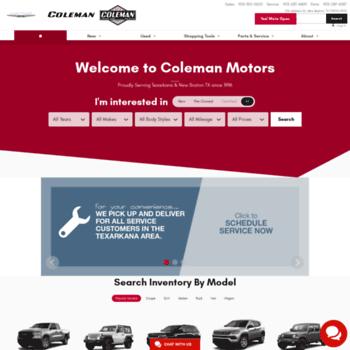 Colemandodge.com thumbnail