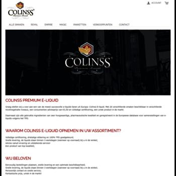 Colinssliquid.be thumbnail