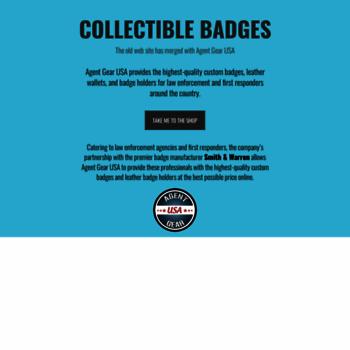 Collectiblebadges.com thumbnail