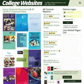 Collegewebsites.ac.uk thumbnail