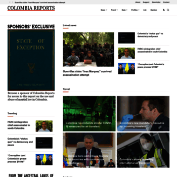 Colombiareports.com thumbnail
