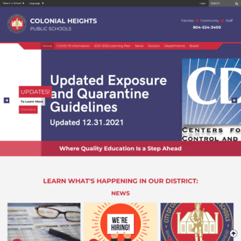 Colonialhts.net thumbnail