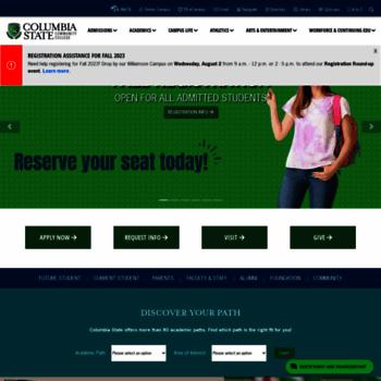 Columbiastate.edu thumbnail