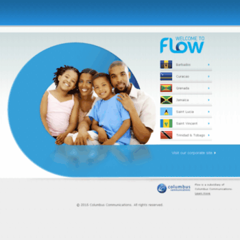 columbustrinidad com at WI  Flow | Welcome - Get TV, Phone, and