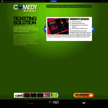 Comedybooking.co.uk thumbnail