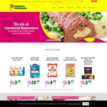 Comercialesperanca.net.br thumbnail