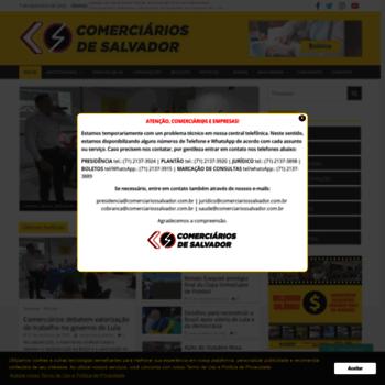 Comerciariossalvador.com.br thumbnail