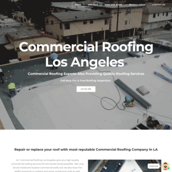 Commercialroofinglosangeles.org thumbnail