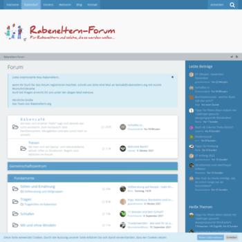 Communityrabenelternorg At Wi Forum Rabeneltern Forum