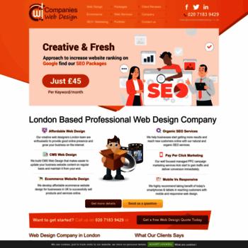 Companieswebdesign.co.uk thumbnail