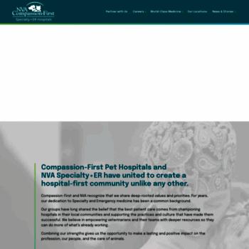 Compassionfirstpets.com thumbnail