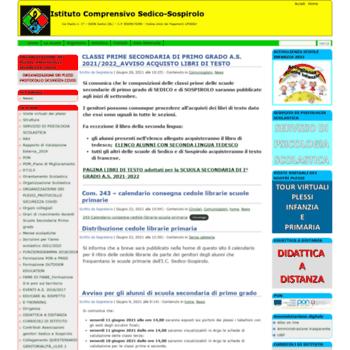 Comprensivosedico-sospirolo.gov.it thumbnail