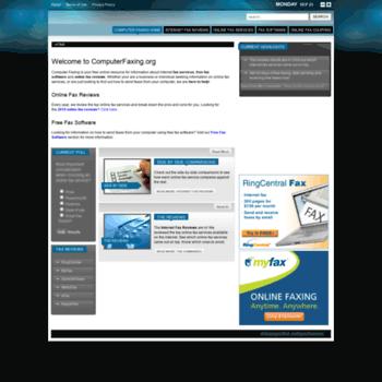 Computerfaxing.org thumbnail