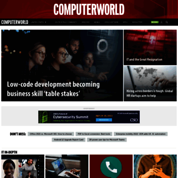 Computerworld.com thumbnail