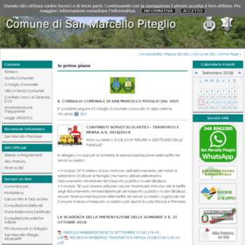 Comune-sanmarcellopiteglio.info thumbnail