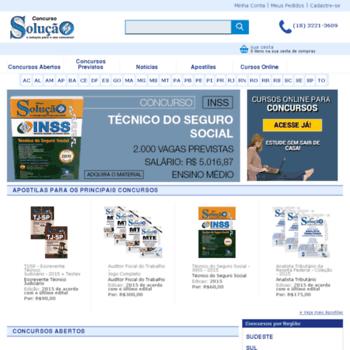 Concursosolucao.com.br thumbnail