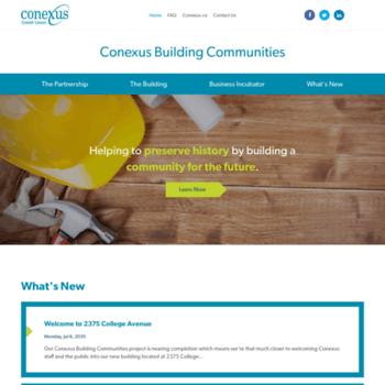 Conexusbuildingcommunities.ca thumbnail