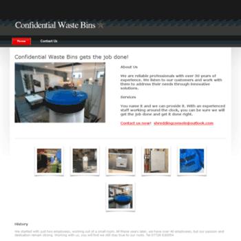 Confidentialwaste-bins.co.uk thumbnail