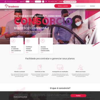 Consorciosbradesco.com.br thumbnail