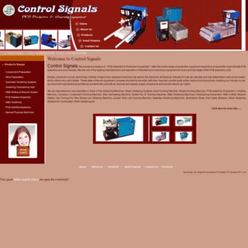 Controlsignals.net thumbnail