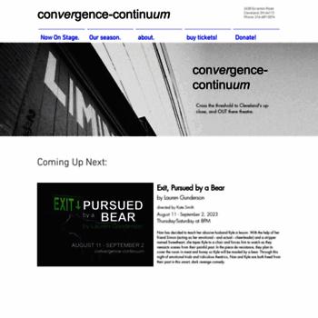 Convergence-continuum.org thumbnail