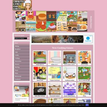 Cookinggamesforgirls.info thumbnail