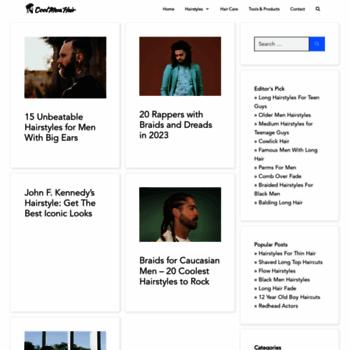 Top 10 2015 men hairstyles websites