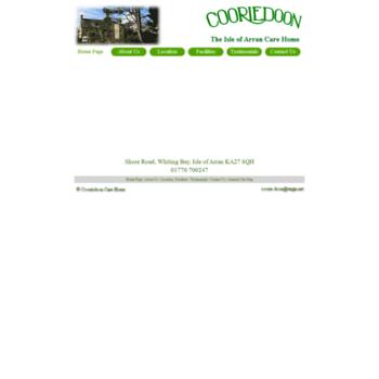 Cooriedoon.co.uk thumbnail