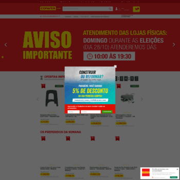 Copafer.com.br thumbnail