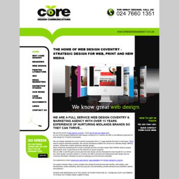 Coredesignagency.co.uk thumbnail