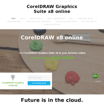 coreldraw-online com at WI  CorelDRAW Graphics Suite x8