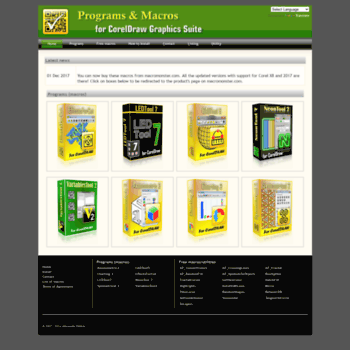 corelvba com at WI  Programs & Macros for CorelDRAW Graphics