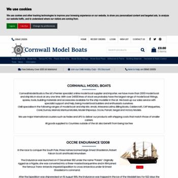 Cornwallmodelboats.co.uk thumbnail