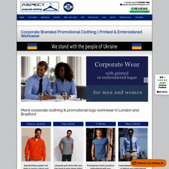 Corporateclothingwear.com thumbnail