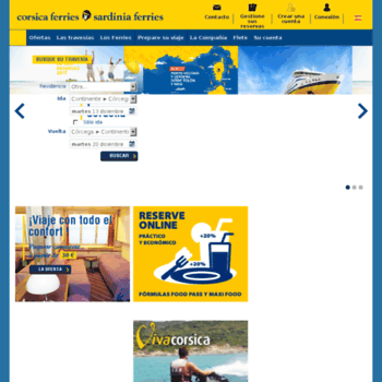 Corsica-ferries.es thumbnail