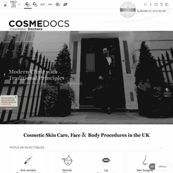 cosmedocs co uk at WI  Cosmetic Skin Clinic Harley Street