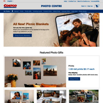 costcophotocentre ca at WI  Photo Books, Canvas Prints