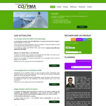 Cosyma.fr thumbnail