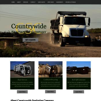 Countrywidesanitation.net thumbnail