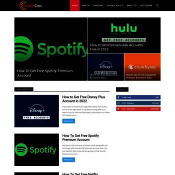 couponcruz com at WI  CouponCruz - All Tech and Premium Information
