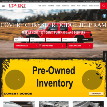 Covert Dodge Austin Tx >> Covertdodge Com At Wi New Used Cars Covert Chrysler