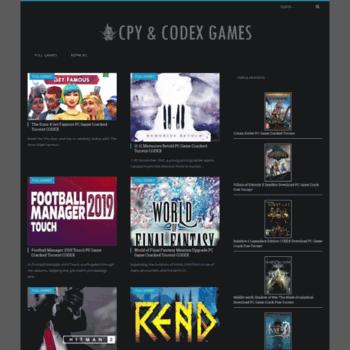 pc games torrent codex