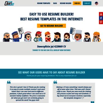 Craft Cvcom At Wi Resume Builder Online Creative Resume