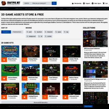craftpix net at WI  2D Game Assets Free & Premium - CraftPix net