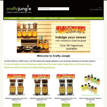 Craftyjungle.co.uk thumbnail