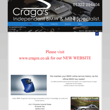 Cragoautorepairs.co.uk thumbnail