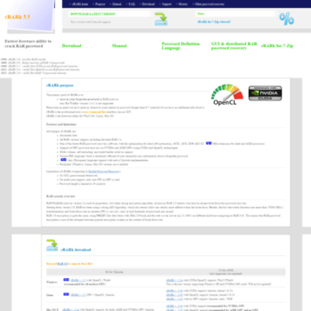 Crark.net thumbnail