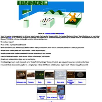 Crazygolfmuseum.info thumbnail